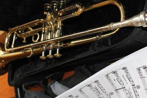Trompete und Noten